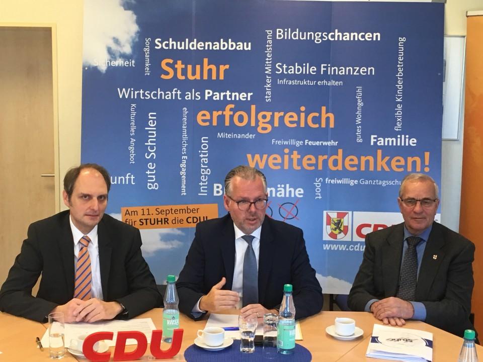 Ralph Ahrens, Frank Holle, Frank Schröder